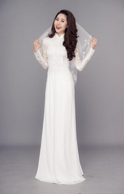 Top 20 áo dài cưới được lựa chọn nhiều 02
